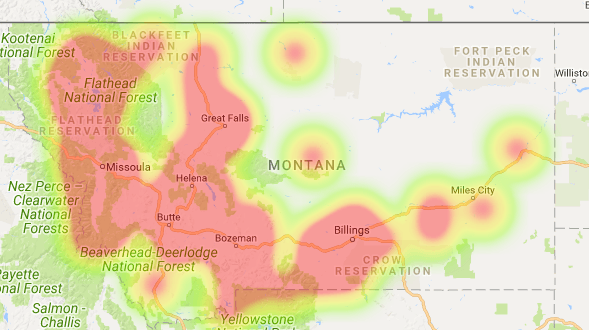 Montana Coverage Map