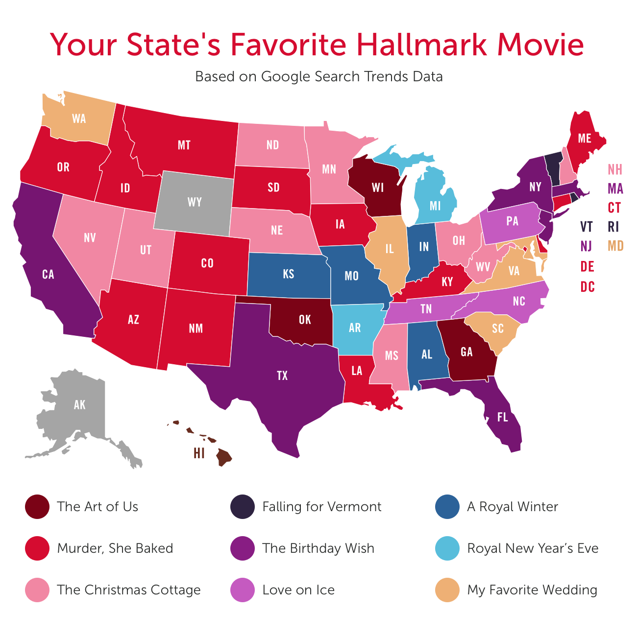 Internet Service Partners Hallmark Movie State report